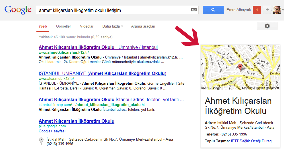 ahmetlilicarslanio_google
